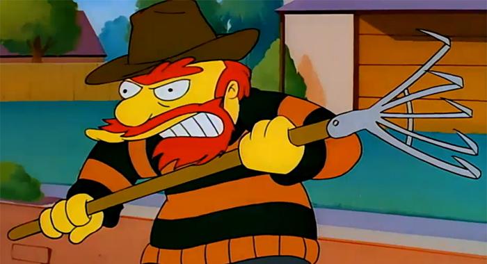10 de los personajes de mas pateticos de los Simpson willie