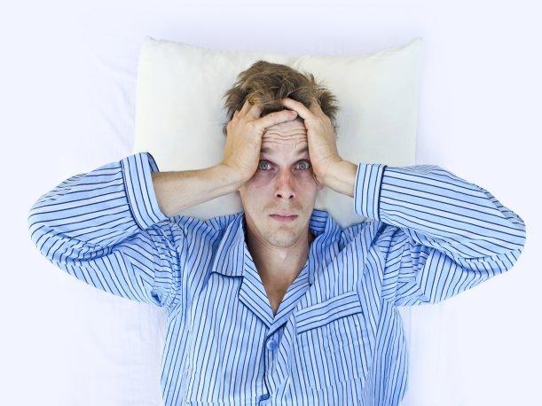 El estrés produce falta de sueño.
